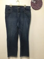 Ladies jeans size 16 P blue four pockets Cato Premium 82