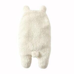 Soft Plush Swaddle Baby Sleeping Bag Multicolor Vintage New Bear Wrap Blanket BB