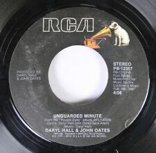Rock 45 Daryl Hall & John Oates - Unguarded Minute / I Can'T Gi For That On Rca