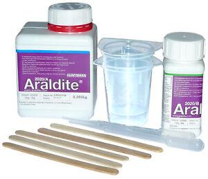 Araldite 2020, Araldit 2020, Farbloses Zweikomponeneten-Klebstoffsystem // 0,5kg