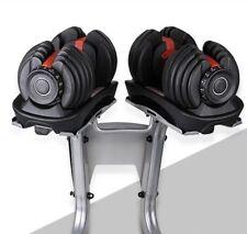Adjustable Dumbbell Set 5-52.5 lbs Free Weights Not Bowflex SelectTech 552