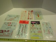Model Kit Car Kitbash Decals Sheets Parts Accessory Auto Race Racing
