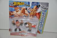 WWE Rumblers Zack Ryder & Rey Mysterio Figures Mattel 2012 New