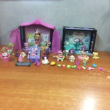 Littlest Pet Shop Bulk Lot 4 + 15 Pets + 1 Blythe Doll + Accessories
