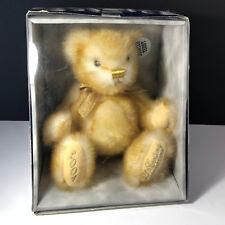 DAN DEE TEDDY BEAR 2001 century first edition jointed nib box gold plush stuffed