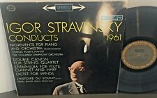 IGOR STRAVINSKY Conducts 1961 COLUMBIA MASTERWORKS Classical LP