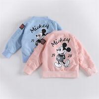 baby Clothes Girls Boys Coat Cartoon Windbreaker Children Jackets Kids Outerwear