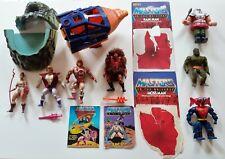 Masters del universo Lote de Trabajo Vintage Figuras Sueltas años 80 Tp He-man Teela Adam