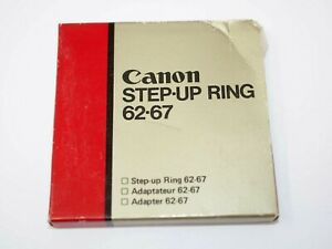 Canon Step-Up Ring 62-67mm