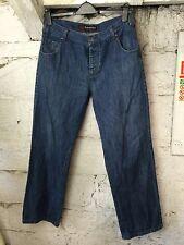 Men's Kangol Jeans Denim Straight Urban Street Designer 34 32 classic blue(1056)