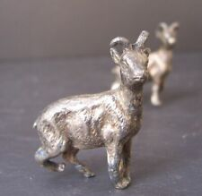 WMF Silver Plated Knife Rest - Pair of Goats
