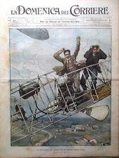 La Domenica del Corriere 26 Ottobre 1902 De Bradski Aviazione Modica Alluvione