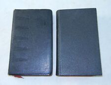 Lot of 2 LIVRE D'HEURES Book Of Hours 1962 1964 Francais Book Leather Catholic
