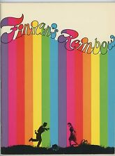 Finian's Rainbow 1968 Souvenir Program Petula Clark Fred Astaire Tommy Steele NM