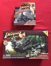 Indiana Jones Kingdom Of The Crystal Skull Jungle Cutter & Mutt Williams Motorcy