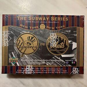 2000 Upper Deck Subway Series Mets/Yankees 30 Card Set Sealed Box Jeter/Piazza
