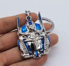 Keychain / Porte-clés - Transformers Optimus Prime Megatron - Silver & Bleu