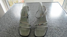 Ravel ladies size 7 silver sandels by Ravel
