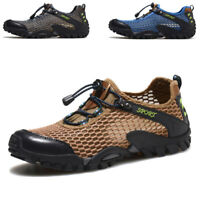 Men's Mesh Breathable Water River Sports Shoes Trail Hiking Outdoor Hot Snekaers