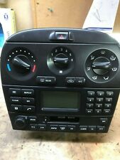 Jaguar X-Type Entertainment, Heater Control Panel, Radio, Cassette, CD Head Unit