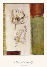 Julian Marcoux Poppy II Poster Stampa d'Arte Immagine 80x57cm-SPEDIZIONE GRATUITA