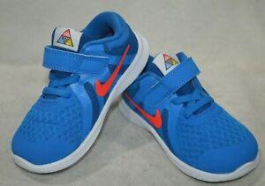Nike Revolution 4 (TD) Photo Blue/Crimson Boy's Toddler Running Shoes-Asst Sz NB