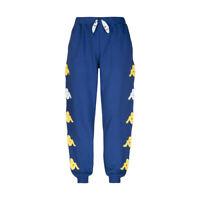 Kappa Authentic Sand Crumb Pantalone Uomo 304S4R0 905 Blue Md Yellow White