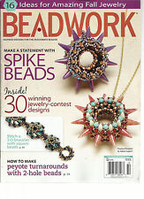 BEAD WORK, INSPIRED DESIGNS FOR THE PASSIONATE BEADER, OCTOBER / NOVEMBER, 2013