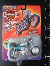 Matchbox Harley Davidson FXR Stunt Cycle Blue Low Rider Hasbro