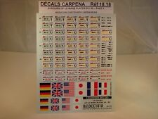 DECALS 1/18 PLAQUES 24H DU MANS 1995 à 1999 - COLORADO  1818