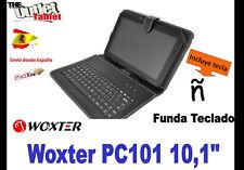 "FUNDA TECLADO TABLET Woxter SX 200 220 10,1"" UNIVERSAL 10"" KEYBOARD PC101"