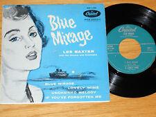 """POP EP - LES BAXTER - CAPITOL EAP 1-599 - """"BLUE MIRAGE"""""""