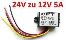 60w dc 24v a 12v transductores adaptador convertidor de voltaje Boot converti regulador 3d del CNC