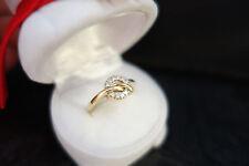 Christ Brillantring Gelbgold  585er Gold Ring mit 10 Brillanten 0,1 ct  Gr. 53
