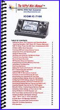 Icom IC-7100 Mini-Manual by Nifty Accessories