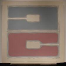 """NOBU FUKUI, Renown Japanese/American New York Artist, Serigraph, """"#8"""", 1970, COA"""