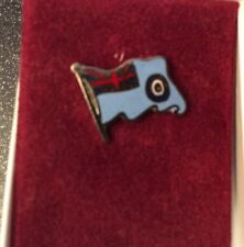 RAF Blue Ensign Flag Lapel PIn Badge.                                     (0356)