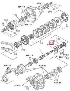 GENUINE ISUZU 8-97129233-0  Transfer Case THRUST WASHER Output Gear (TOD) 98-04