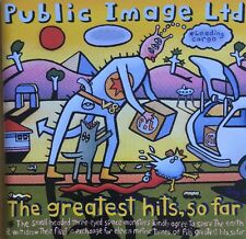 PUBLIC IMAGE LTD THE GREATEST HITS SO FAR CD VIRGIN CAPITOL 1990 USA PRESSING