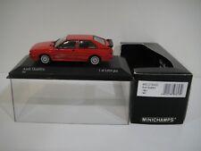 --1/43 MINICHAMPS. AUDI QUATTRO   1981. Red