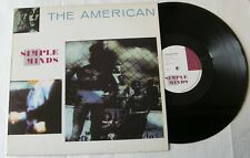 """SIMPLE MINDS  (Maxi 45T 12"""") THE AMERICAN  - LEAGUE OF NATIONS"""