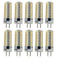 10pcs GY6.35 Bi-Pin 80 4014 SMD LED Light Bulb Dimmable Crystal 120V Warm White