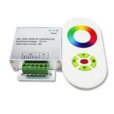AMPLIFICATORE CON TELECOMANDO TOUCH RF 12-24V 18A PER STRISCIA LED 5050 RGB
