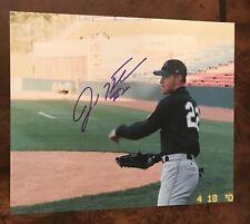 Josh Hamilton Autographed 8x10 Photo, Rays, Rangers