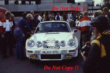 Henri Toivonen Porsche Carrera 1000 Lakes Rally 1978 Photograph 1