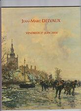 CATALOGUE DE VENTE JEAN-MARC DELVAUX / PIECES D'OR TABLEAUX MEUBLES TAPIS