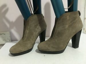 RUSSELL AND BROMLEY GREY WOMENS LADIES STILETTO SIZE 6.5 BOOTS SHOES (EQ