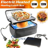 Portable Food Warmers Electric Heater Lunch Box Mini Oven 120V US Plug Home 55W