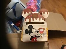 More details for mickey mouse genuine loungefly disney backpack exclusive new & tagged. ice cream