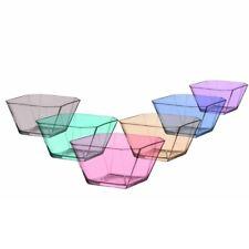 LAV 6er Glasschalen Bunte Dessertschale Vorspeise Gläser in Pastellfarben 300ml